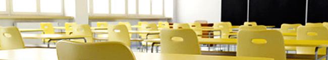 Schoonmaak van onderwijsinstellingen